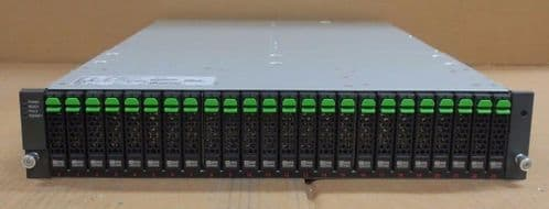 "Fujitsu Eternus DX 24-Bay 24x 300GB 2.5"" SAS HDD Expansion Unit Array ETLDE2BG"