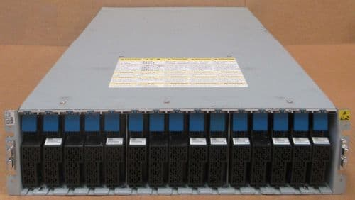 Hitachi DF-F800-RK AK 9x500GB SAS HDD Disk Array JBOD Storage Shelve 2x Control