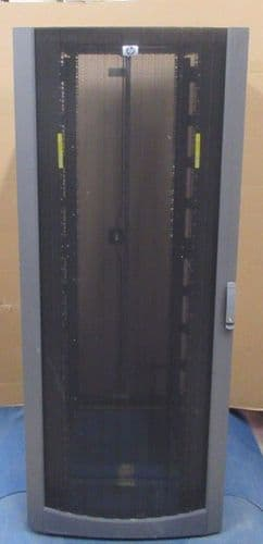 HP 10842 42U Side Server Rack Cabinet Enclosure Extra Wide 269792-001