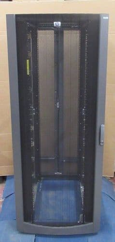 HP 10842 42U Side Server Rack Cabinet Enclosure Extra Wide 269792-001 No Sides