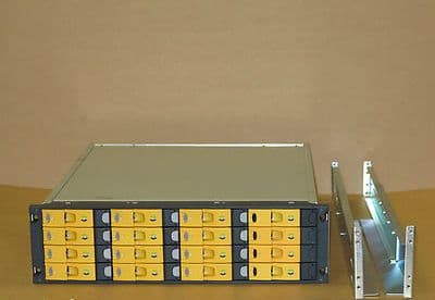 HP 3PAR 16-Bay SAN InServ E200 Storage Array 13x 400GB 10K 4Gb HDD 2x Cts,2 x PS