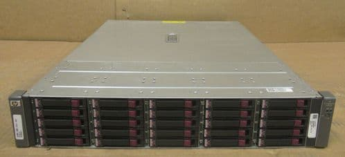 HP MSA70 Modular Smart Array 3.5TB HDD 1x SAS I/O Module 399049-001 418800-B21