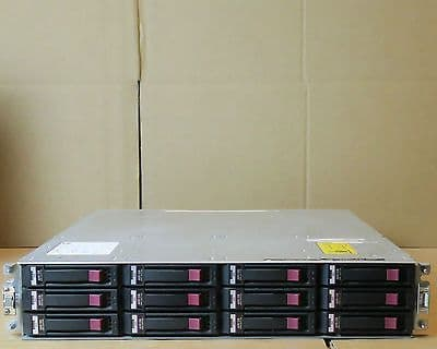 HP P2000 G3 AP847A 12x 600GB SAS Dual Port 8GB FC Controllers Storage Array