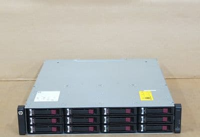 HP P2000 G3 AW593A 12-Bay Storage Array 2x QD SAS Controllers, 7x 600Gb, 5 x 2Tb