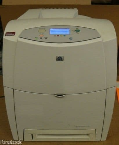 HP Workgroup Printer Laser C9661A 4600dn Fast Black and White B/W Office