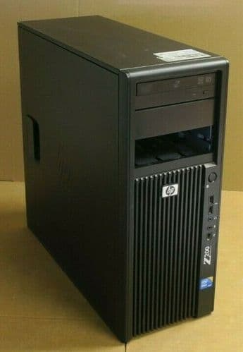 HP WorkStation Z200 Tower Xeon Quad Core X3450 2.66GHz 4GB 500GB HDD Win7 Pro