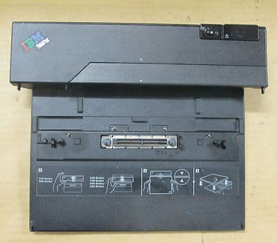 IBM ThinkPad Type 74P6733 Mini Dock Docking Station P/N 74P6734