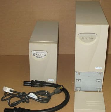 Keysource Sentinel 1000VA Tower UPS Key/UPS/1000 + Battery pack Key/UPS1000/BC14