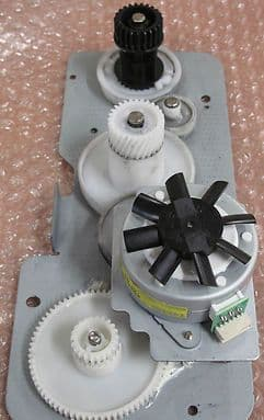Lexmark Optra E312 Main Drive Assembly with Motor, Printer Parts, P/n 12G1877