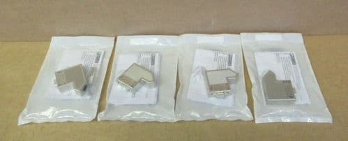 Lot of 4 x Phoenix Contact SUBCON 9/F-SH Metal D-sub 9-Pin Female Connector