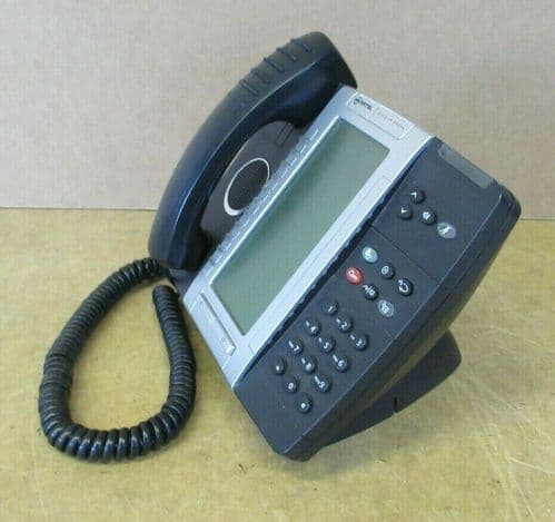 Mitel 5330 IP VoIP Phone Telephone Non-Backlit 50005070 56007821 With Stand