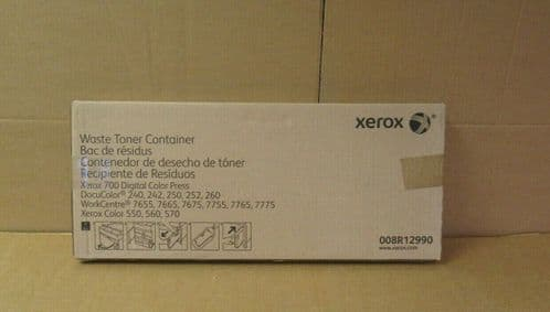 NEW 008R12990 Waster Toner Container For Xerox 700 Digital Colour Press 240 242