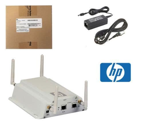 New HP ProCurve MSM325 Wireless Access Point PoE J9373B + Bracket & AC Adapter