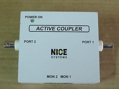 Nice Systems Active Coupler E1-BNC, Networking Equip[ment, P/n 506A104-02