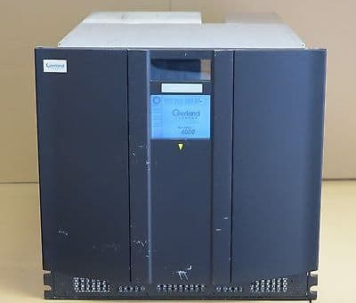 Overland Neo 4000 With 2x Ultrium LTO4 6U 60-Slot Fibre Channel FC Tape Library