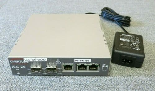 Overture Networks 5428-900 ISG 26 Rev B Programmable Network Interface Device