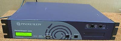 Packeteer PacketShaper 2500 PS2500 Network Performance Load Balancer Appliance