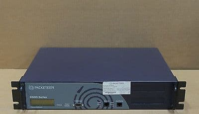 Packeteer PacketShaper 6500 PS6500 Network Performance Load Balancer Appliance