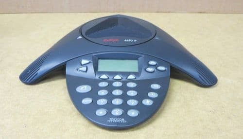 Polycom Avaya IP 4690 VoIP PoE Conference Speaker Phone 2301-06682-001