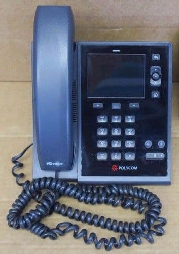 POLYCOM CX500 VoIP IP Phone Lync Full Duplex Ethernet Telephone