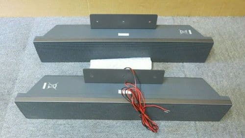 Polycom LCE-32SPK12P 2 Grey Side Speakers For Flat Screen Monitor