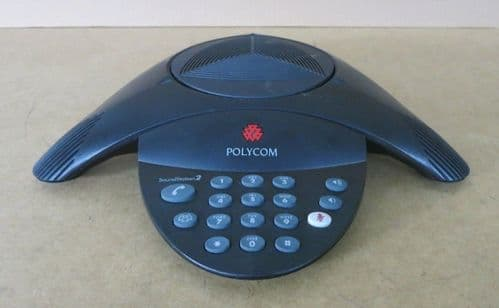 Polycom SoundStation 2 Non Expandable Analog Conference Phone 2201-15100-001