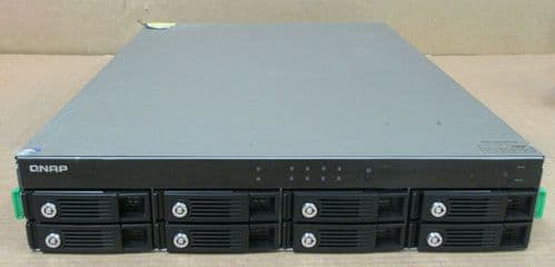QNAP TS-859U-RP Turbo 8-Bay NAS Network Attached Storage Server