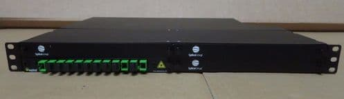 "Splice SpliceGroup Fibre Optic Rack Mount Patch Panel 19"" 1U 12 Port"