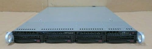 Supermicro 1U CSE-815 X10SLM+-LN4F E3-1270v3 3.50GHz 16GB Ram 4-Bay Server