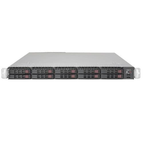 Supermicro 1U SYS-1028GR-TRT+ Server 2 x Xeon E5-2680v3 12-core 2.5GHz 128GB