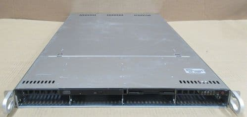 SuperMicro 6014H-X8  2x 64-Bit 1-Core 3GHz 4GB Ram 4x Bays 1U Server