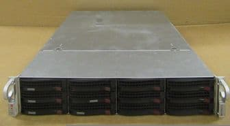 Supermicro Chasis 2x AMD Opteron 6168 1.9GHz 144GB H8DGU-F 24 Cores Rack Server