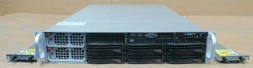 Supermicro SuperChassis 2042G-TRF 4x AMD Opteron 6164 32GB R 48 CORE 2U Server
