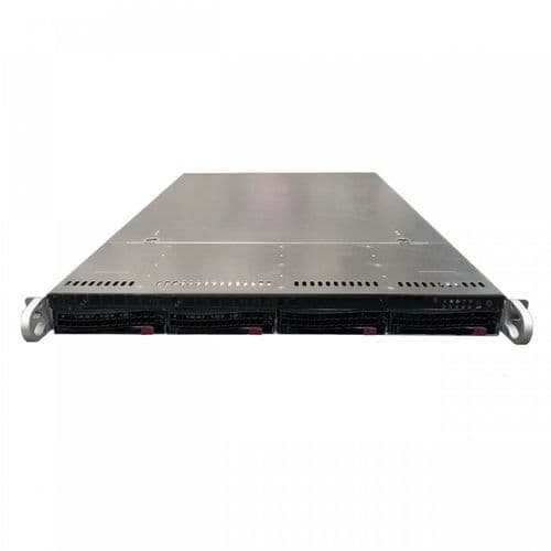 Supermicro SuperChassis CSE-815-5 2x E5-2660v3 2.6GHz 128GB DDR4 4x Bays Server