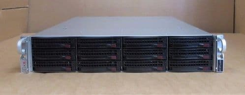 "Supermicro SuperChassis CSE-826 2 Eight-Core XEON E5-2660 384GB 2U 12x3.5""Server"