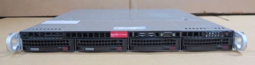 Supermicro SuperChassis Dual Core i3-2120 3.30GHz 4GB 2x1TB Rack Server CSE-813M