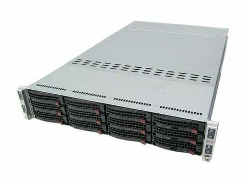 Supermicro Superserver 6027TR-HTRF 4x X9DRT-HF 8x 10 Core E5-2680v2 128GB Server