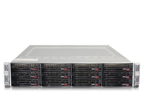 Supermicro SuperServer 6028TR-HTR 8 x 10-Core E5-2640v4 1TB RAM 4 node Server