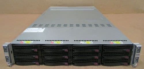 Supermicro SuperServer 6028TR-HTR 8x 8-Core E5-2620v4 128GB RAM DDR4 Node Server