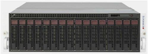 "Supermicro SuperServer 938-16 5037MC-H8TRF 16x 3.5"" HDD Bay 8-Node 2U CTO Server"