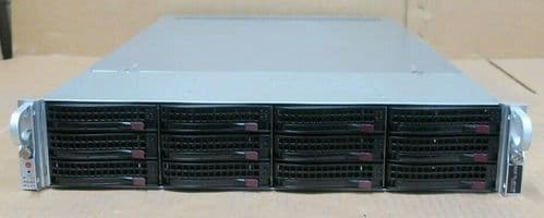 Supermicro SuperServer CSE-829U 2x E5-2620v3 32GB Ram 12x Bay X10DRU-i+ Server
