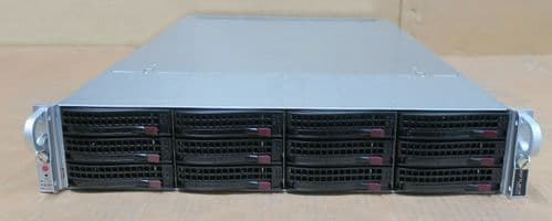 Supermicro SuperServer CSE-829U 2x E5-2620v3 64GB Ram 12x Bay X10DRU-i+ Server
