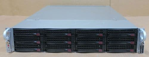 Supermicro SuperServer CSE-829U 2x E5-2680v4 32GB 12x Bay X10DRU-i+ 2U Server