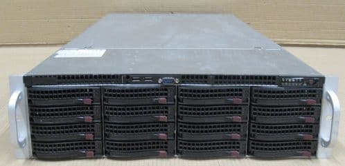 Supermicro SuperServer CSE-836 2 x XEON E5-2670 8-core 96GB Ram 32TB  3U Server