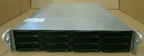 "Supermicro SuperStorage 6027R-E1R12T 2x 12-Core E5-2697v2 192GB Ram 12x 3.5"" Bay"