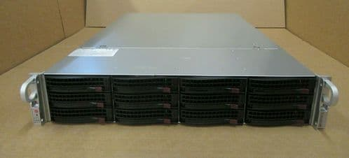 Supermicro SuperStorage 6027R-E1R12T X10DRH-IT REV 1.01 E5-26xx V2 CTO 2U Server