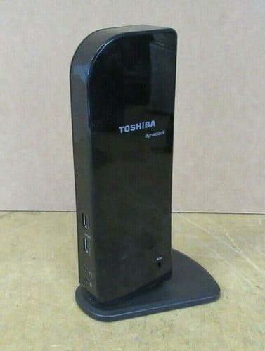 Toshiba Dynadock U3.0 PA3927E-1PRP HDMI DVI-I Docking Station WITHOUT AC Adapter