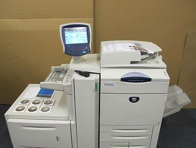 Xerox DocuColor DC 242 Fast 55ppm Digital Colour Printing Press Copier RIP DC242