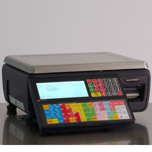 Avery Berkel | XS100 Label & Receipt Printing Scale | Oneweigh.co.uk