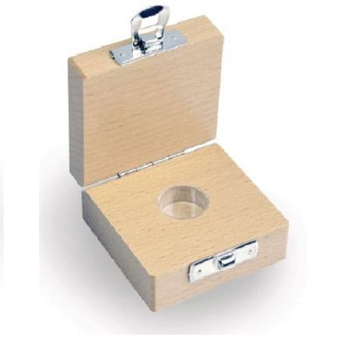 Box for Individual E1/E2/F1/M1 Weights mg